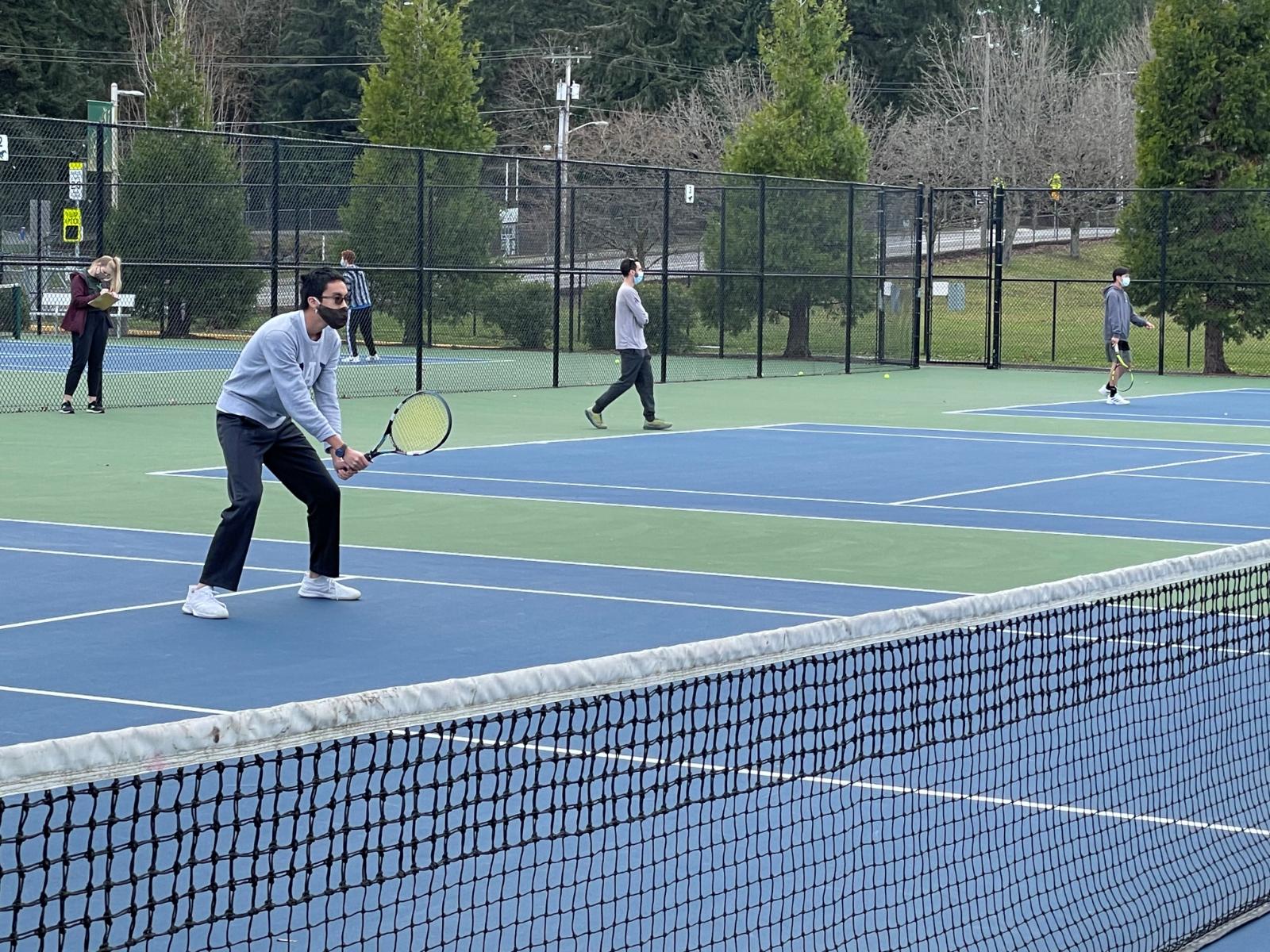 Tennis in the Swing of Things