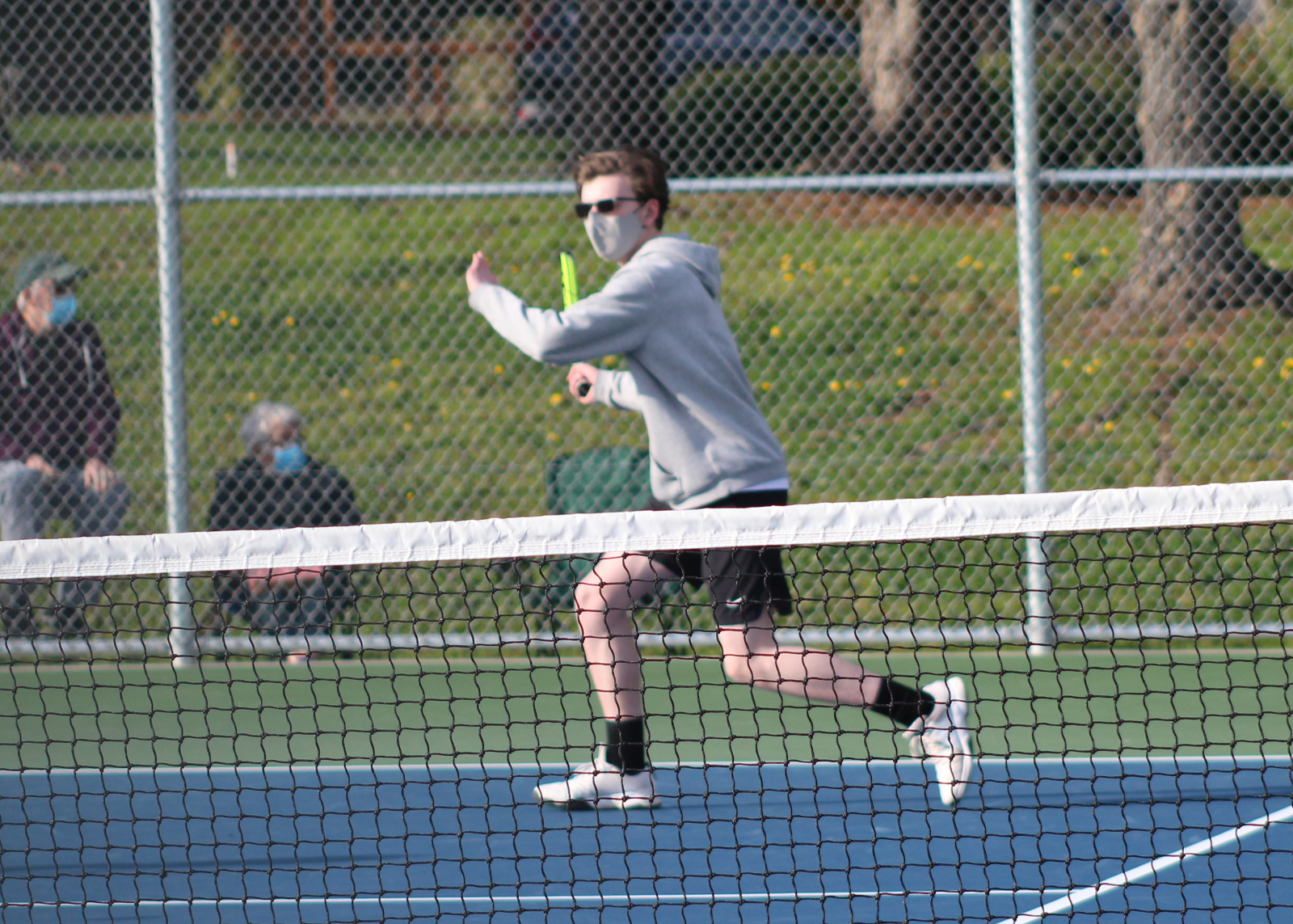 3/23 Boys Tennis win over Bothell