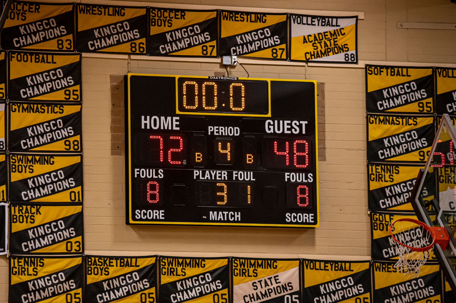 4/21 Inglemoor High School Girls Basketball…Great Game!