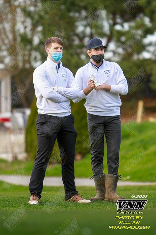 3/8/21 Boys Varsity Golf versus La Conner and Shoreline Christian