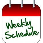 All Teams Schedule: Week of August 10 – August 16