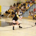 Northeast Volleyball feeling focused and ready…  #EaglesInAction  #NEVolleyball