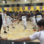 The Boy's Basketball Team Takes The Floor As They Open Up Their 2015/ 16 Season