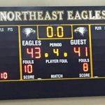 Northeast High School Girls Varsity Basketball beat Eastern Tech High School 43-41