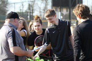 NHS Tennis 2017 pre-season candids