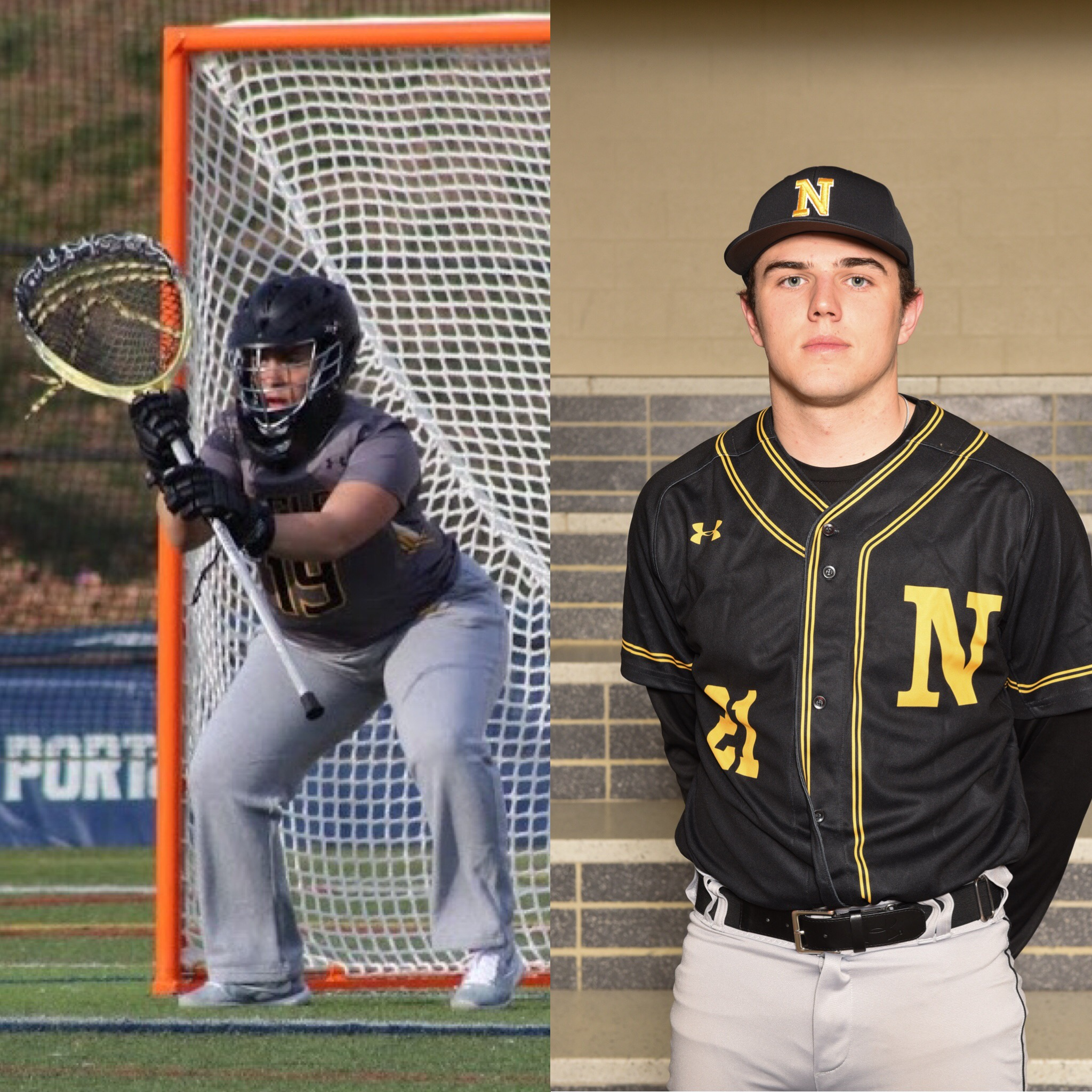 NHS Athletics March Athletes of the Month: Sydney Wingate & Kenny Miller