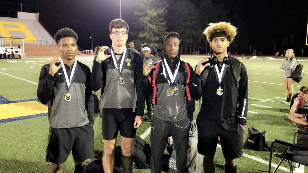 NHS Track Sprinting into the Record Books…  Go Eagles!