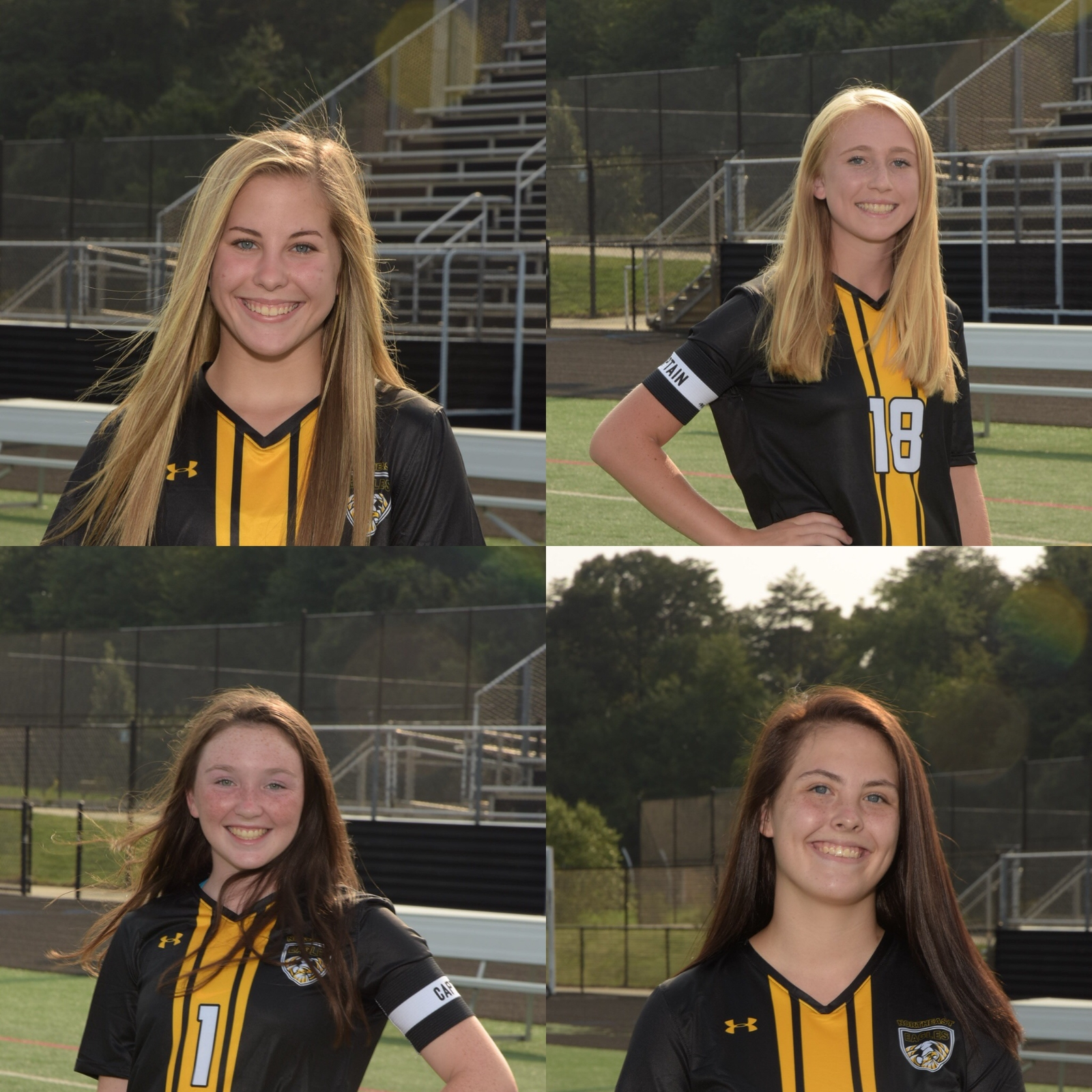 Girls Soccer Sends Four to AA County All Star Game! #WeAreNortheast