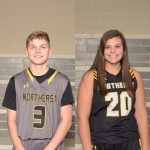 NHS Athletics January Athletes of the Month: Ryleigh Nalley and Brandon Lebarron