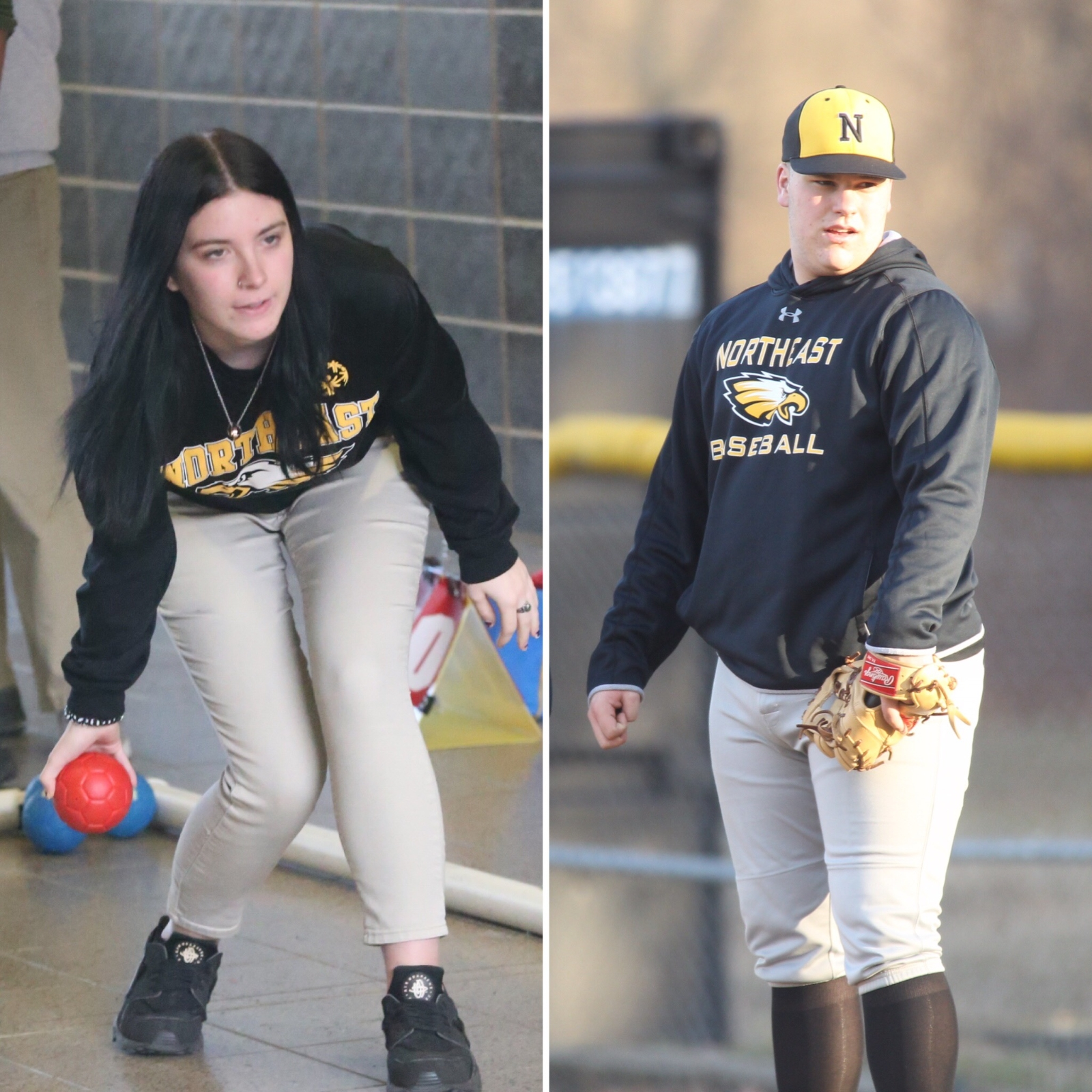NHS Athletics March Athletes of the Month: Candra Lynne and Colby Sanders