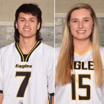 NHS Athletics April Athletes of the Month: Morgan James and Tanner Bishop