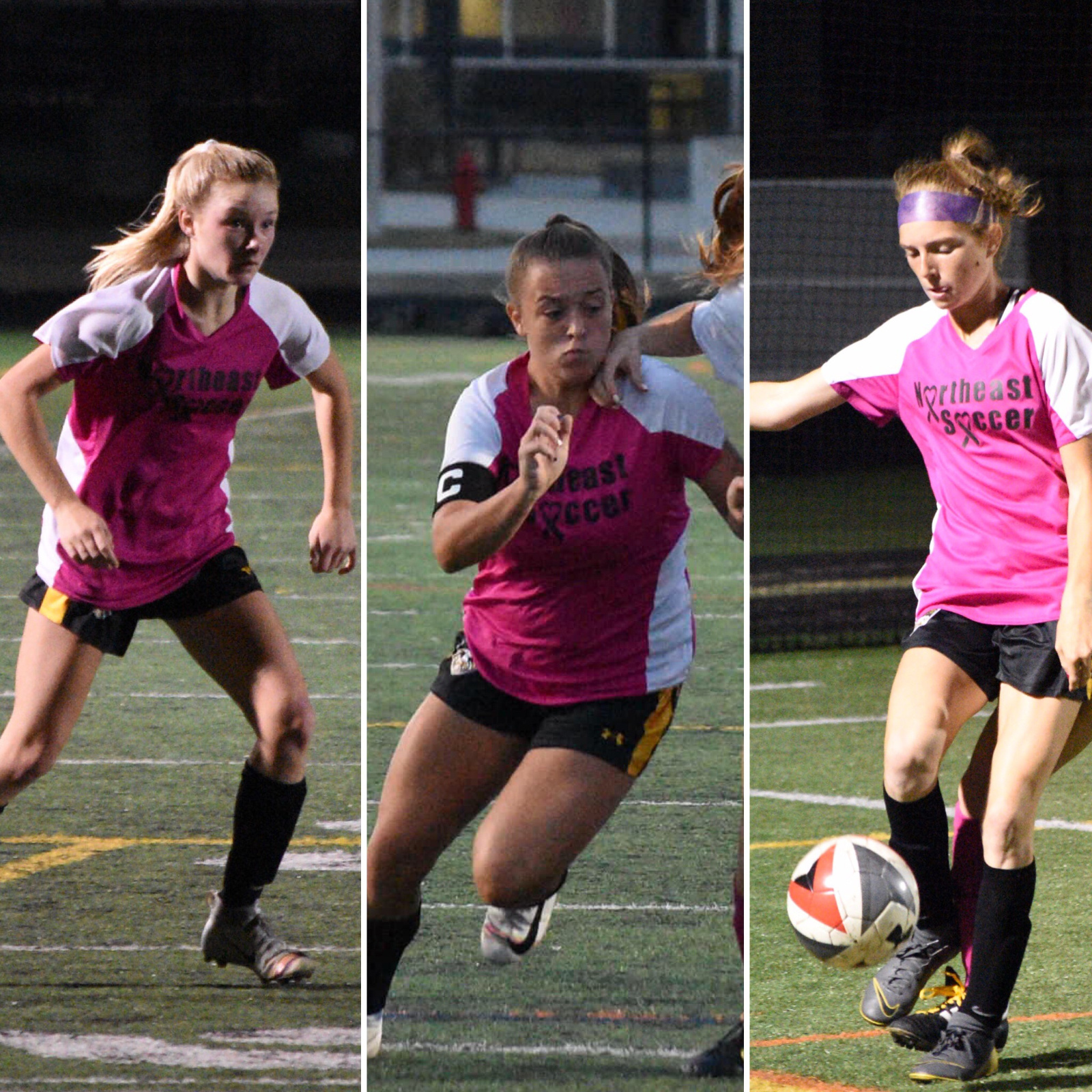 Congrats to Makenzie Boyd, Caitlyn Cornwell and Allyson Wills for Earning 2nd Team/ HM Honors!