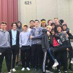 Boys Soccer Volunteers at Orphan Grain Train. #WeAreNortheast