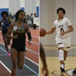 NHS Athletics January Athletes of the Month: Christal Pommells and Jaylin Albury