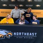 Congrats to Allyson Wills on her commitment to attend and play basketball at Neumann University!