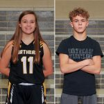 NHS Athletics February Athletes of the Month: Allyson Wills and Colin Cook