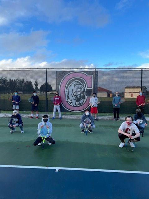 1st Week of Tennis Practice