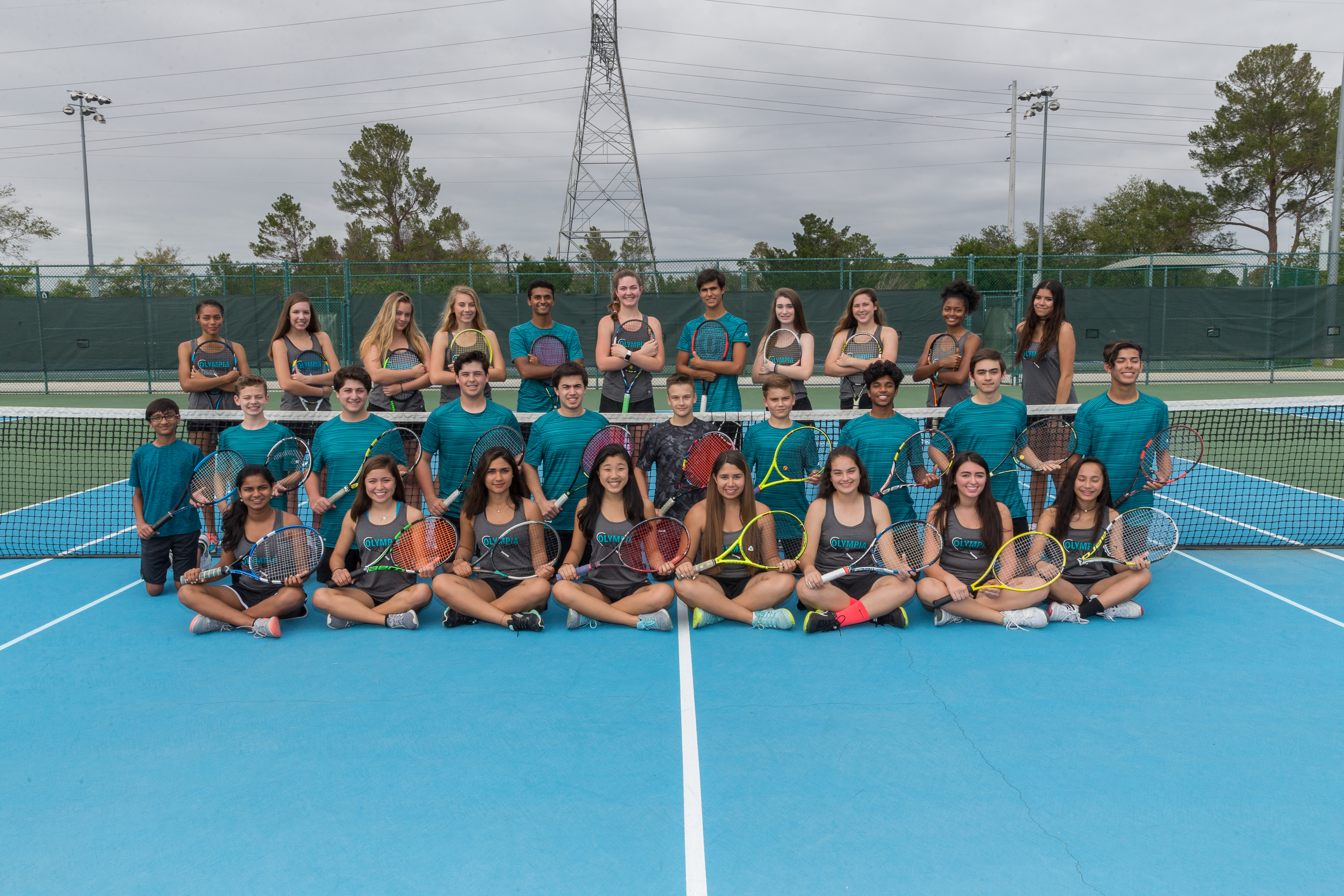 Boys and Girls Tennis Earn District Championship