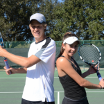 Olympia Tennis Standouts Funk and Beltrame