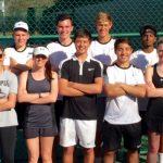 Olympia Tennis Seniors Honored