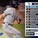 Rays Brad Miller Leading the Way