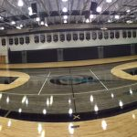 Olympia Gym Floor Remodel Nearing Completion