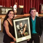 Herrera and Aken Selected as Athletes of the Year