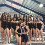 Girls Swimming and Diving Secure District Championship