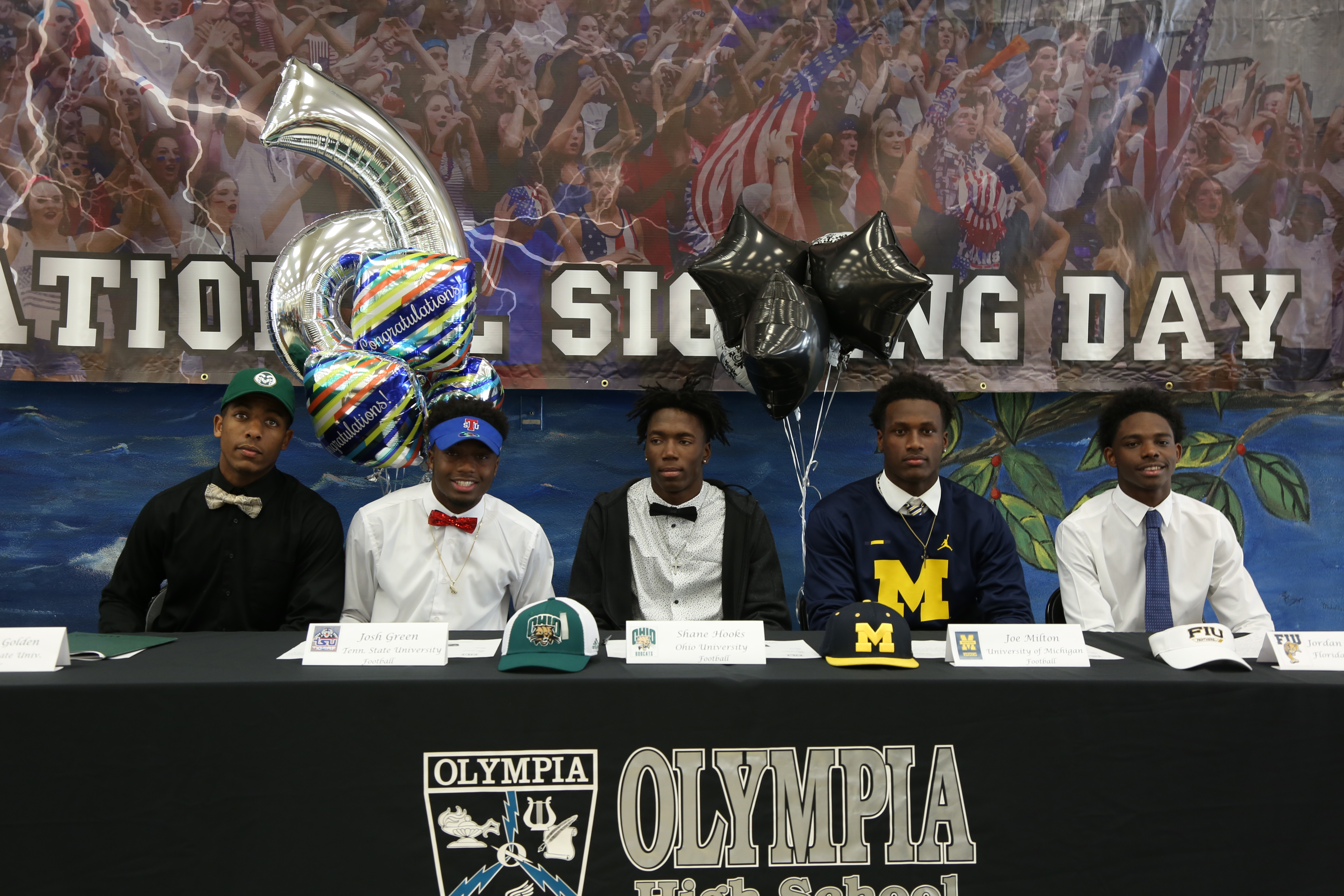 Early National Signing Day for Football