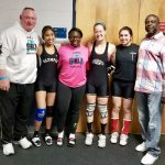 Girls Weightlifting Finish Season Strong