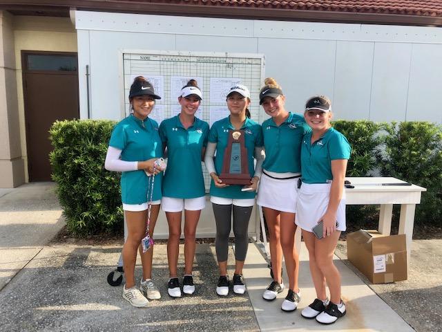Girls Golf Earn District Championship
