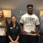 Lung and Jeantihomme Selected as Baptiste Orthodontics Athletes of the Month
