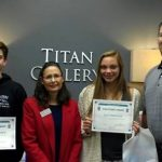 Elle Ferguson and Brandon Wegner Named Baptiste Orthodontics November Athletes of the Month