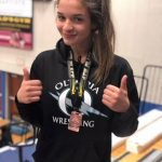 Livia Santos Places 4th at 2019 Girls Wrestling State Championship