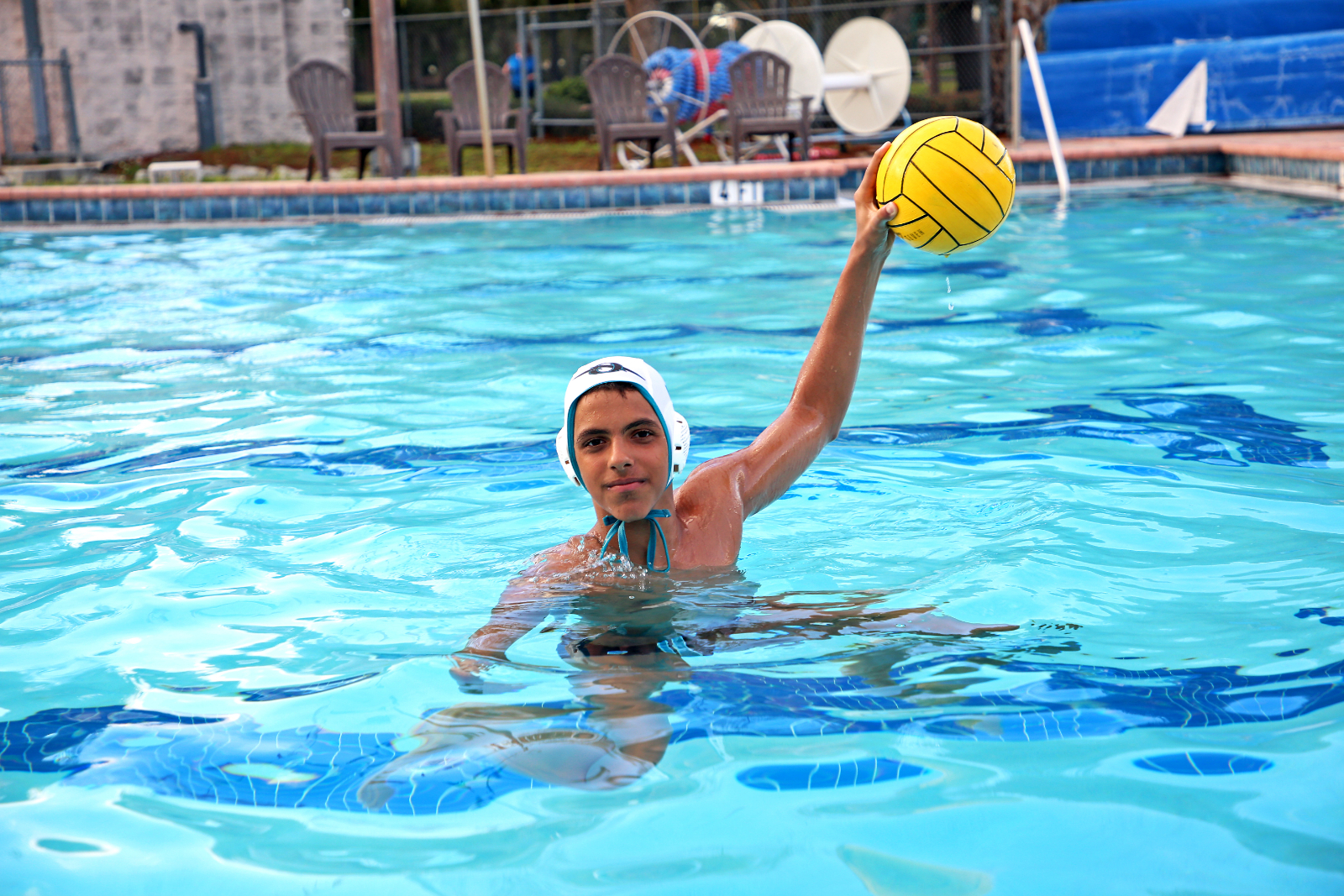 Sophomore Water Polo Athlete Zeyad Abdelmaged Featured on News 13
