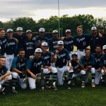 Boys Varsity Baseball beats Calvert Hall 4 – 3 to win the Hornet Challenge