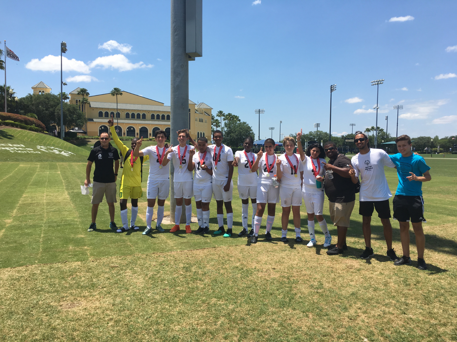 Special Olympics Win Back to Back Gold
