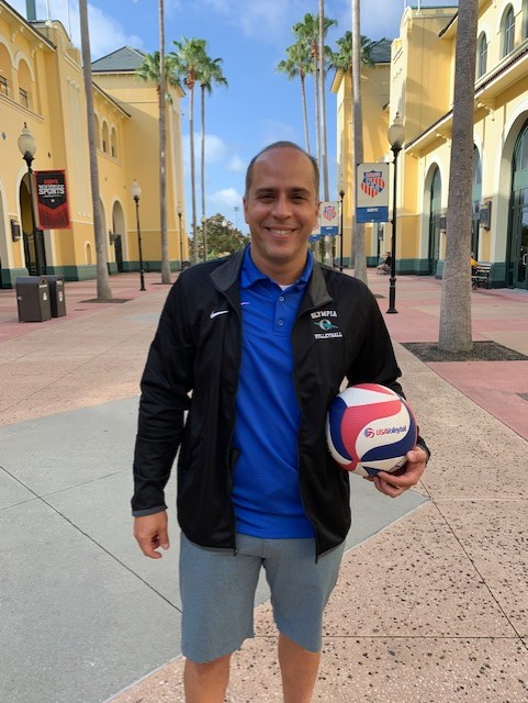 Larry Camacho Takes Over Girls Volleyball Program