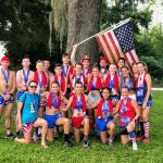 Cross Country Team Represents in Oakland at the 4 on the 4th Race