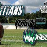 Olympia vs. Windermere Fri. Sept. 13th 7pm