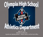 National Signing Day at Olympia Auditorium April 22nd – 2:45pm