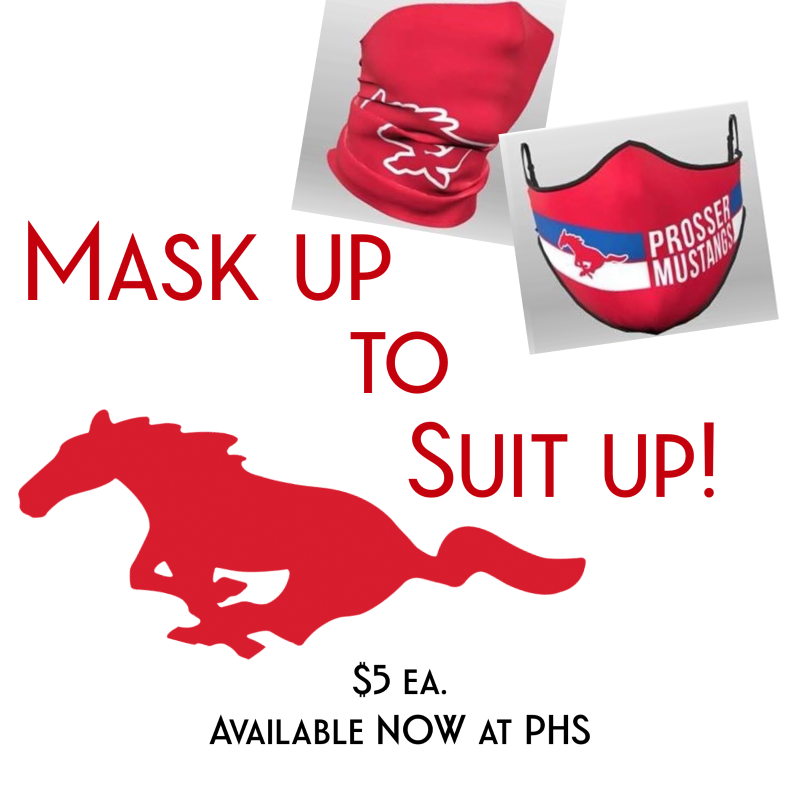 Mask Up to Suit Up!