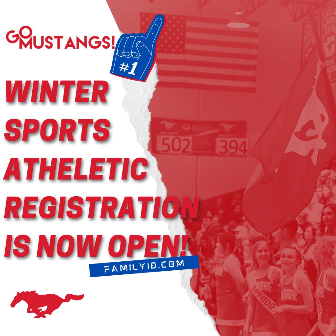 Winter Sports Registration is Now Open!