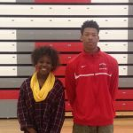 Briggs and Finch Are Top Athletes at Diamond Hornet Invitational
