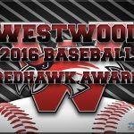 Westwood Baseball Award Winners 2016