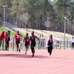 Rush and Brown Lead Redhawk Girls Track