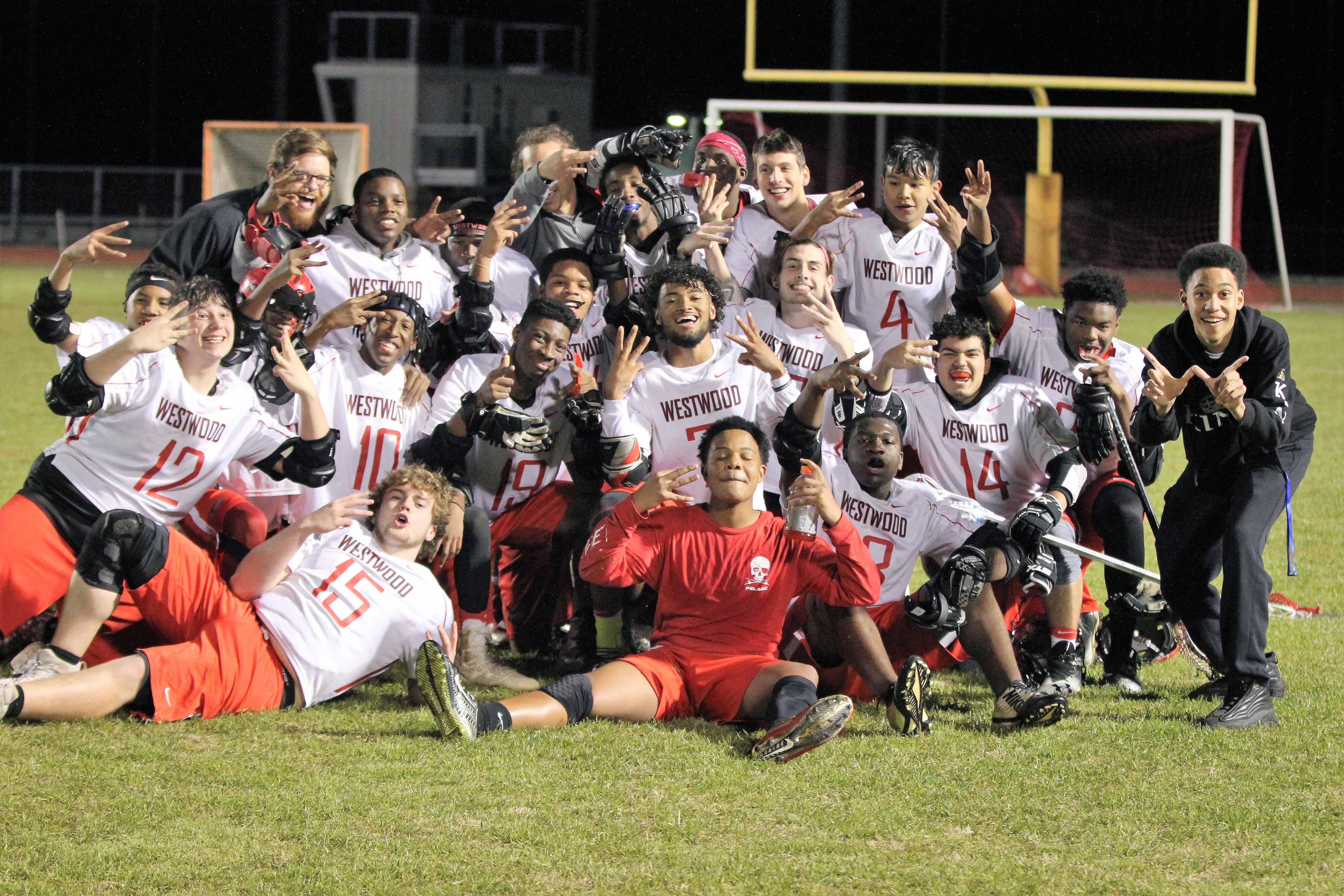 Redhawk Lacrosse Records 1st Ever Win