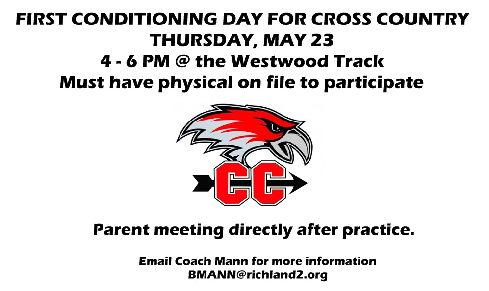 Cross Country Summer Conditioning Information