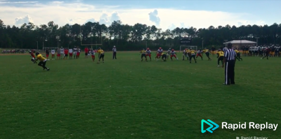 Video Highlights: Football Scrimmage