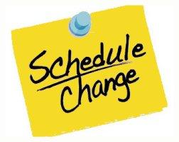 Schedule Change Updates